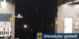 Uneinsichtige Gleisläufer - S-Bahn-Stammstrecke kurzzeitig gesperrt