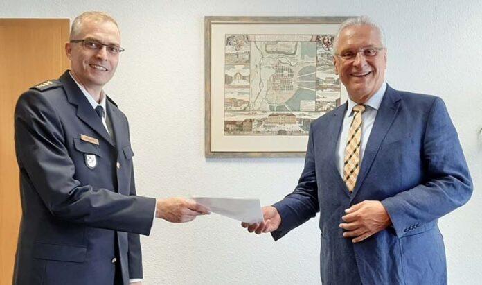 Neuer Münchner Polizeivizepräsident - Herrmann bestellt Dibowski als Nachfolger von Radmacher