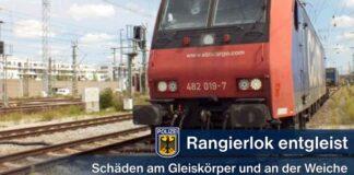 Rangierbahnhof Laim: Rangierlok entgleist