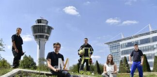 Flughafen München bietet eine Vielfalt an Ausbildungsmöglichkeiten für Berufseinsteiger