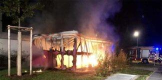 Milbertshofen-Am Hart: Wieder brennender Schuppen im Norden von München
