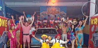 CLOWN-CAR-WASH - Muenchens lustigste Autowasch-Show!