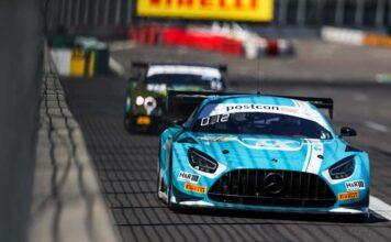 ADAC GT Masters: Mercedes-AMG-Duo Stolz/Engel gewinnt Auftaktrennen