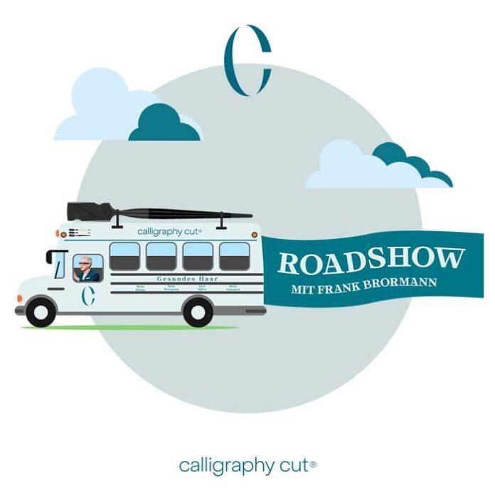 Calligraphy Cut-Roadtrip Deutschland 2020 - Frank Brormann kommt mit Team, Schulbus und umfangreichem Trainingsprogramm auch nach München