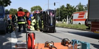Neuhausen-Nymphenburg: Verkehrsunfall mit zwei Verletzten