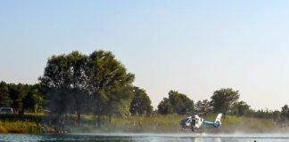 Ertrinkungsunfall am Riemer See