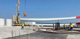 Fundamentarbeiten für das zweite Windrad in München beginnen
