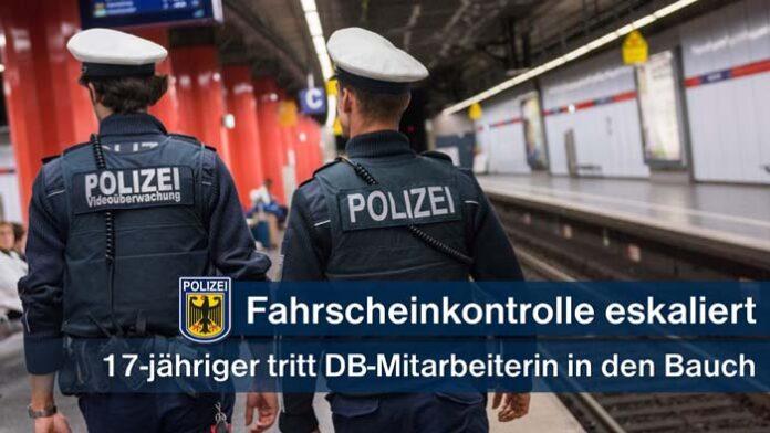S-Bahnkontrolleurin in Bauch getreten - Mitreisende schritten beherzt ein