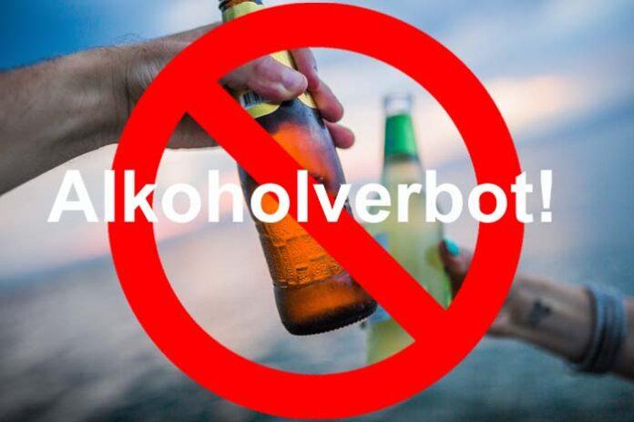 Alkoholverkaufs- und -konsumverbot an Hotspots am Wochenende