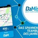 B2Mission – Teambuilding trifft auf sportliche Herausforderung