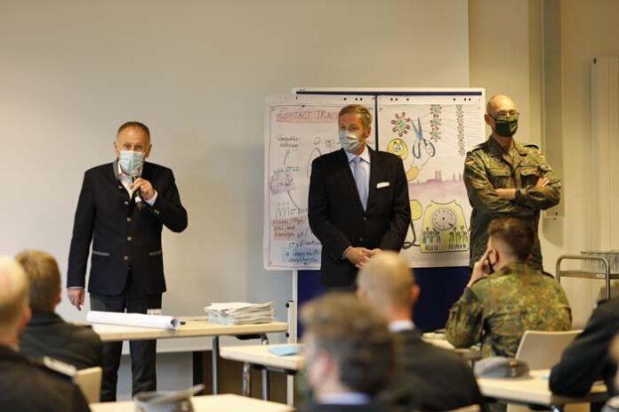 Gesundheitsamt erhält Unterstützung durch die Bundeswehr