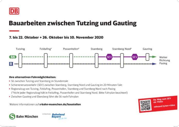 Bahn erneuert Gleise zwischen Gauting und Starnberg