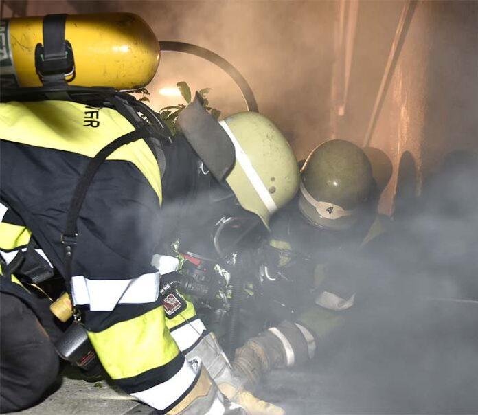 Schwabing: Brand macht Wohnung unbewohnbar