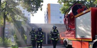 Hadern: Tiefgaragenbrand im Hochhaus
