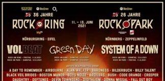 Vorverkaufsstart und neue Bandwelle für Rock am Ring & Park 2021