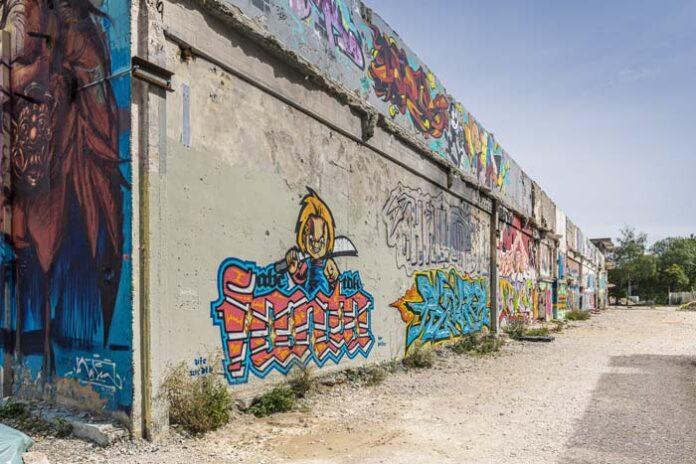 Street Art Festival Hands Off The Wall am WERK9
