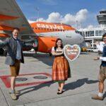 easyJet startet von München vier Mal wöchentlich nach London Gatwick