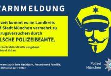 """Achtung Betrug - Warnhinweis - Anrufen durch """"Falsche Polizeibeamte"""""""