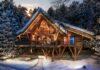 Baumhaus oder Bauernhaus für den Winter in Neukirchen
