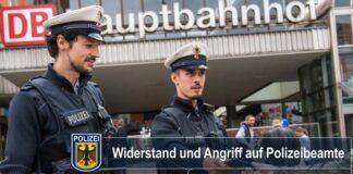 Hauptbahnhof München: Widerstand und Angriff auf Polizeibeamte