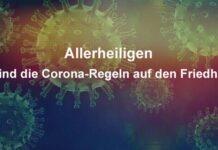 Allerheiligen: So sind die Corona-Regeln auf den Friedhöfen