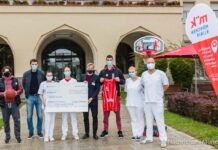 FC Bayern Basketball spendet 30.000 Euro an die München Klinik