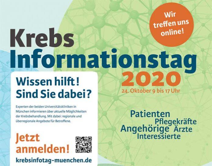 Krebs-Informationstag 2020 am 24. Oktober 2020 - Innovationen in der Onkologie | Was ist wirklicher Fortschritt?