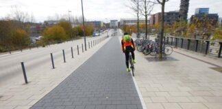 ADAC Test: Jeder dritte Radweg zu schmal