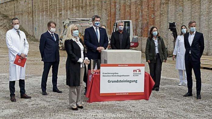München Klinik Bogenhausen: Grundstein für den