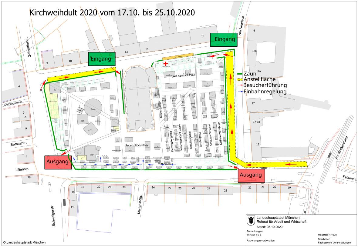 Marktplan Kirchweihdult 2020
