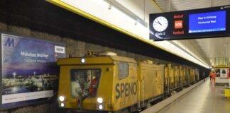 U2, U3, U6: Neuer Schliff für die U-Bahn-Schienen – Spezialzug mehrere Wochen im Einsatz