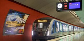 U-Bahnlinie U2: Neue U-Bahn erstmals im Einsatz