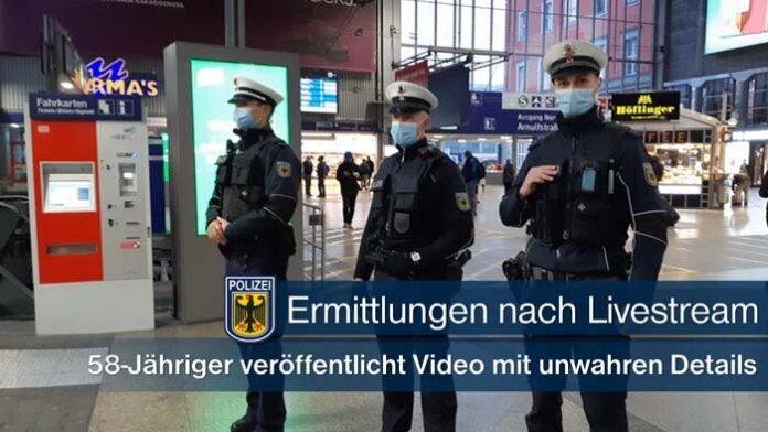 Ermittlungen wegen Livestream von Kontrollen