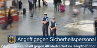 München Hauptbahnhof: Angriff gegen Sicherheitspersonal