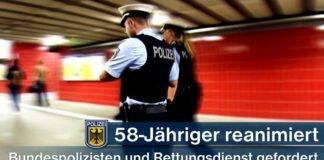 Erfolgreiche Reanimation - 58-Jähriger von Bundespolizisten wiederbelebt