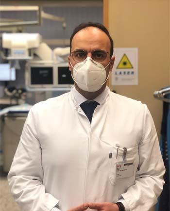 PD Dr. Atiqullah Aziz, Chefarzt der Klinik für Urologie in der München Klinik Bogenhausen. Bildnachweis: München Klinik