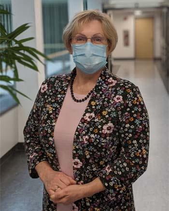 Renate Bock, Pflegekoordinatorin in der München Klinik Neuperlach. Bildnachweis: München Klinik
