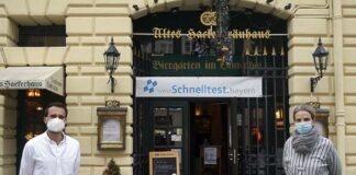 """Hackerhaus - Traditionsreiches Wirtshaus wird zeitweilig zur """"Corona Teststelle in München Zentrum"""""""