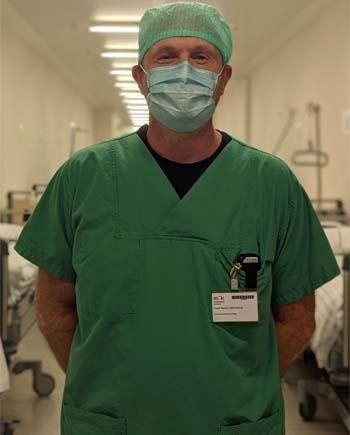 Frank Hiltenkamp, Abteilungsleiter der Anästhesiefunktion in der München Klinik Bogenhausen. Bildnachweis: München Klinik