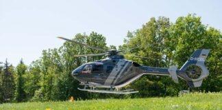 Fliegende Heli-Ärzte sparen wichtige Zeit in der Schlaganfallversorgung