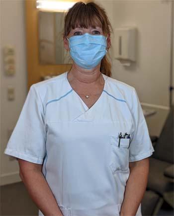 Damaris Meyer, Fachkrankenpflegerin für Onkologie und palliative Pflege in der München Klinik Schwabing. Bildnachweis: München Klinik