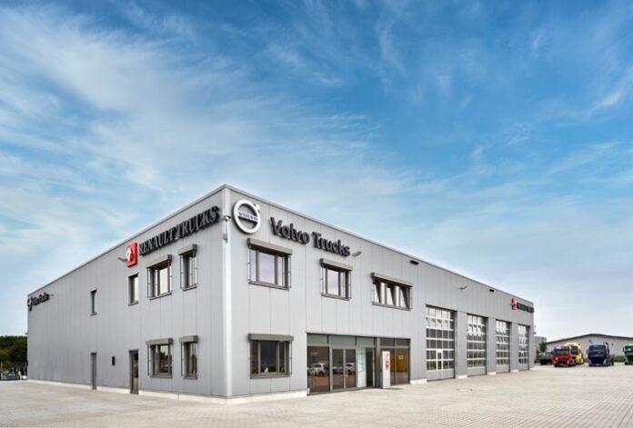 Renault Trucks und Volvo Trucks eröffnen zwei neue Standorte in Aschheim und Euskirchen