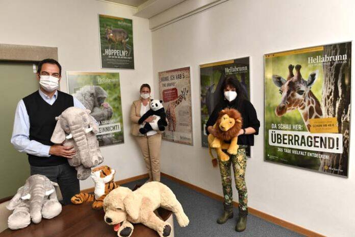 Hellabrunner Plakatausstellung in den Häusern des München Stift