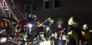 Moosach: Zimmerbrand mit hohem Sachschaden