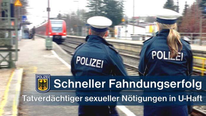 Untersuchungshaft nach sexuellen Nötigungen in der S-Bahn