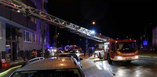 Berg am Laim: Heiligabend - Wohnung nach Zimmerbrand unbewohnbar