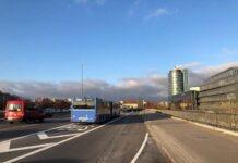 Fünf weitere Spuren für flüssigeren Busverkehr