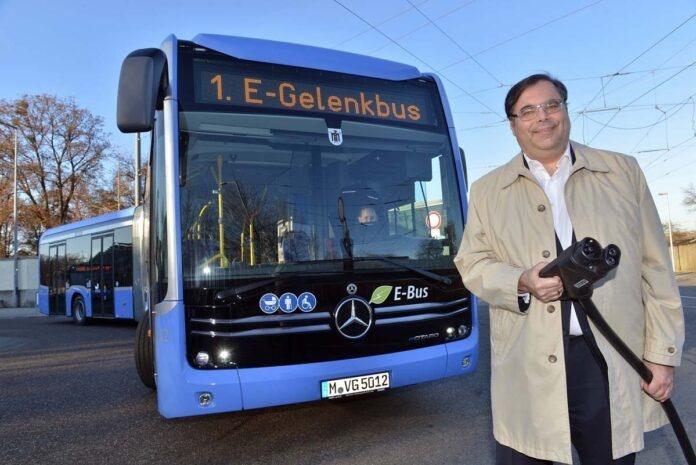 MVG setzt ersten E-Gelenkbus ein: Linie 100 wird komplett elektrifiziert