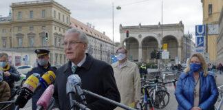 Herrmann und Schreyer zur ersten bundesweiten Kontrollaktion zur Maskenpflicht