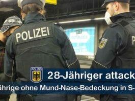 Streit wegen fehlender Maske in der S-Bahn